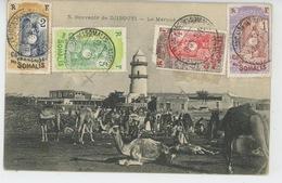 AFRIQUE - DJIBOUTI - Le Marché Des .... - Dahomey