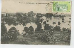 AFRIQUE - DJIBOUTI - Le Village Indigène Inondé - Dahomey