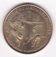 MDP MONNAIE DE PARIS :  MENAGERIE Bouquetin 7505M1/99 1999   Jeton Médaille - Non-datés