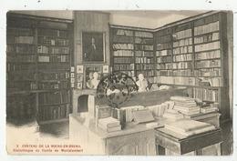 La Roche-en-Brenil (21 -Côte D'Or ) Le Château -  X Bibliothèque Du Comte De Montalembert - Frankreich