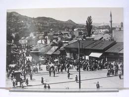 BOSNIE HERZEGOVINE - SARAJEVO - LOT DE 4 CARTES - BASCARSIJA / GESAMTANICHT / PANORAMA / ALIFAKOVAC - Bosnie-Herzegovine