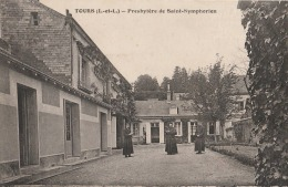 OP22-37) TOURS  - PRESBYTERE DE SAINT  SYMPHORIEN  -  (ANIMÉE - CURÉS - 2 SCANS) - Tours