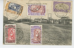 AFRIQUE - DJIBOUTI - La Gare - Dahomey
