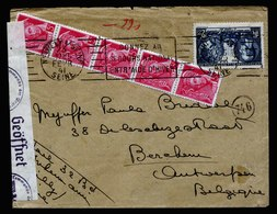 A5379) Frankreich France Brief Neuilly 23.2.41 N. Antwerpen Dt. Zensur - Frankreich