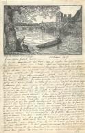 Lettre Militaire Belge - Guerre 14/18 - Vieux Papiers