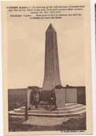 CPA 80 FOZIERES Monument élevé à La Mémoire Des Officiers Et Soldats Du Corps Des Tanks - France