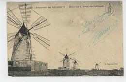 AFRIQUE - DJIBOUTI - Moulins à Vent Des Salines - Dahomey