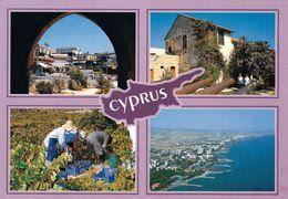 1 AK Zypern Cyprus * Sehenswürdigkeiten In Zypern - Mehrbildkarte * - Cyprus