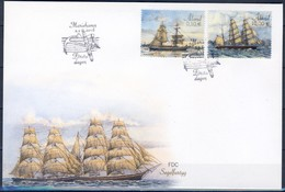 +F1048. Åland 2016. Sailships. FDC. - Aland