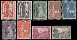 258A/266AA Horizontale Perforatie ** Postfris/fraîcheur Postale Certificaat Kaiser - Belgique