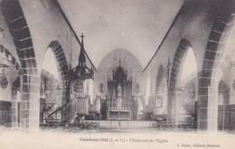 COMBOURTILLE - L'INTERIEUR DE L'EGLISE - 35 - Other Municipalities