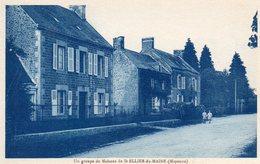 CPA -   Un Groupe De Maisons De SAINT  ELLIER  Du  MAINE  (53) - Autres Communes