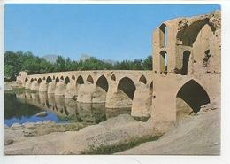 Iran : Isfahan - Shahrestan Bridge (cp Vierge 2 Scan) - Iran