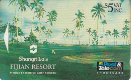 "FIJI ISL.(GPT) - Shangri-La""s Fijian Resort/9 Hole Executive Golf Course, CN : 05FJC, Tirage 20000, Used - Fiji"