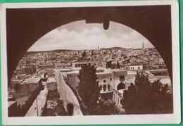 Palestine - Bethlehem - Vue Générale - Mignonnette Format 9.3 X 6.4  Cm - Palestine
