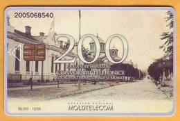 2005  Moldova Moldavie Moldau Used 200 Lei Telephone Card - Moldova