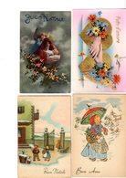 LOTTO 50 CARTOLINE AUGURALI - LOTTO 3 - 5 - 99 Cartoline