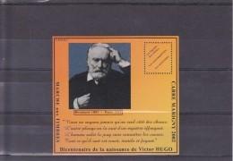 Bloc Carré Marigny Bicentenaire De La Naissance De Victor Hugo 2002 Bloc Dentelé Neuf ** - Blocs & Feuillets