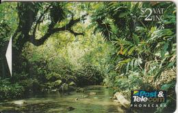 FIJI ISL.(GPT) - Bouma Nature Reserve/Taveuni, CN : 02FJB, Tirage 30000, Used - Fiji