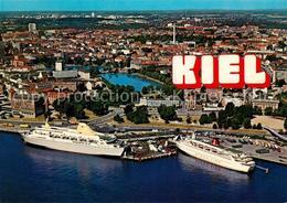 73079523 Schiffe Ships Navires Fliegeraufnahme Kiel Oslo-Kai Schiffe Ships Navir - Non Classificati