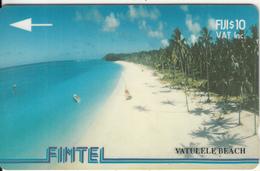 FIJI ISL.(GPT) - Vatulele Beach, CN : 4CWFA, Tirage 8500, Used - Fiji