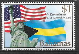 Bahamas 2002 -  Neuf **, MNH - Statue De La Liberté, Liberty, Drapeau, Flag - Bahamas (1973-...)