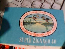 FASCETTA PER GOMITOLI DI LANA LANE SUPER ZIGNAGO 40 GAETANO MARZOTTO VALDAGNO Illustrata ANATRE IN VOLO C118 - Wool