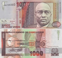 Cape Verde / Cabo Verde - 1000 Escudos 1989 Pick 60 UNC Lemberg-Zp - Cape Verde