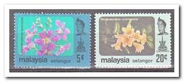 Maleisië Selangor 1984, Postfris MNH, Flowers - Maleisië (1964-...)