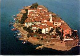 Isola Dei Pescatori. Lago Maggiore. Vista Aerea. VG. - Verbania
