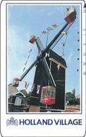 Japan Telefonkarte Windmühle Windmill Moulin Vent - Landschaften