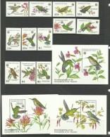 GRENADINES OF ST.VINCENT 1992   HUMMING BIRDS   SET(12V + 3 MS)    MNH. - Hummingbirds