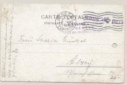 Schweiz - 1916 - Franc De Port Postcard From Red Cross Agence Des Prisonnieres De Guerre - Documenten