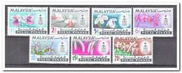 Maleisië Pulau Pinang 1965, Postfris MNH, Flowers, Orchids - Maleisië (1964-...)