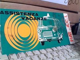 DPILANT BROCHURE FIAT ACI VACANZE PULMINO  VAN AUTO CAR EFIATA SERVICE 1966 C125 - Automobili
