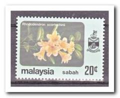 Maleisië Sabah 1983, Postfris MNH, Flowers - Maleisië (1964-...)