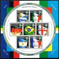 Gibraltar 2006  Yvertnr Bloc 73 *** MNH  Cote 14,00 Euro Coupe Du Monde Football - Gibraltar