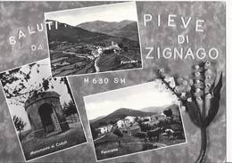 Saluti Da Pieve Di Zignago - La Spezia - H4046 - La Spezia