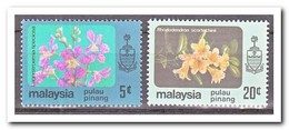 Maleisië Pulau Pinang 1985, Postfris MNH, Flowers - Maleisië (1964-...)