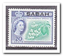 Maleisië Sabah 1964, Postfris MNH, Flowers, Orchids - Maleisië (1964-...)