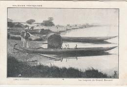 GRAND-BASSAM     La Lagune De Grand Bassam   TB PLAN   RARE  … Avec Pirogues - Ivory Coast