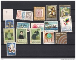 1975 MNH Finland, Finnland, Year Complete According To Michel, Postfris - Finland