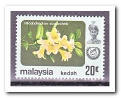 Maleisië Kedah 1983, Postfris MNH, Flowers - Maleisië (1964-...)