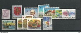1978 MNH Finland, Year Complete According To Michel, Postfris - Finland