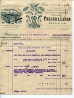 PRAGER & LOJDA-- BERLIN--STEINDRUCKEREI CHROMOLITHOGR.KUNSTANSTALT-BLECHDRUCKEREI,GOLDPRAGEANSTALT. - JAHR 1912 - Imprenta & Papelería