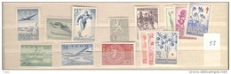1958 MNH Finland, Finnland, Year Complete According To Michel, Postfris - Finland