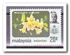 Maleisië Kelantan 1983, Postfris MNH, Flowers - Maleisië (1964-...)