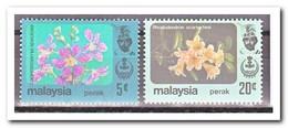 Maleisië Perak 1984, Postfris MNH, Flowers - Malaysia (1964-...)