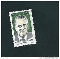 N° 3430 Jacques Chaban-Delmas  Timbre France Oblitéré 2001 - Usati