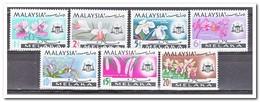 Maleisië Melaka 1965, Postfris MNH, Flowers, Orchids - Maleisië (1964-...)